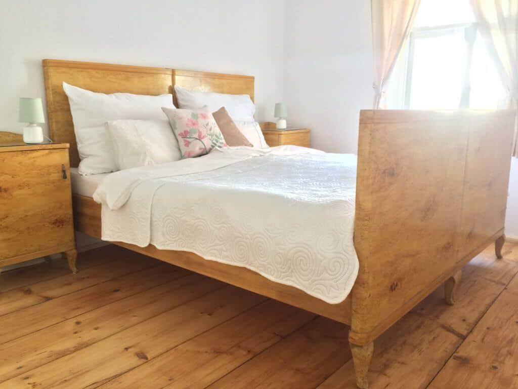 Apartmán č. 3, postel