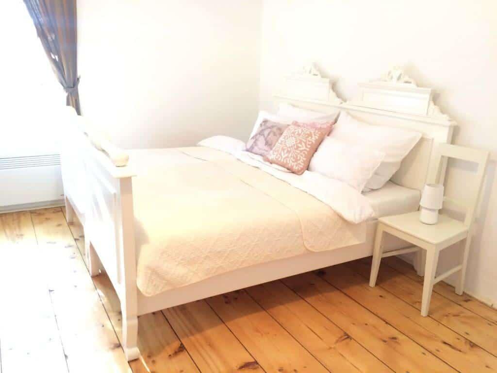 Apartmán č. 4, postel