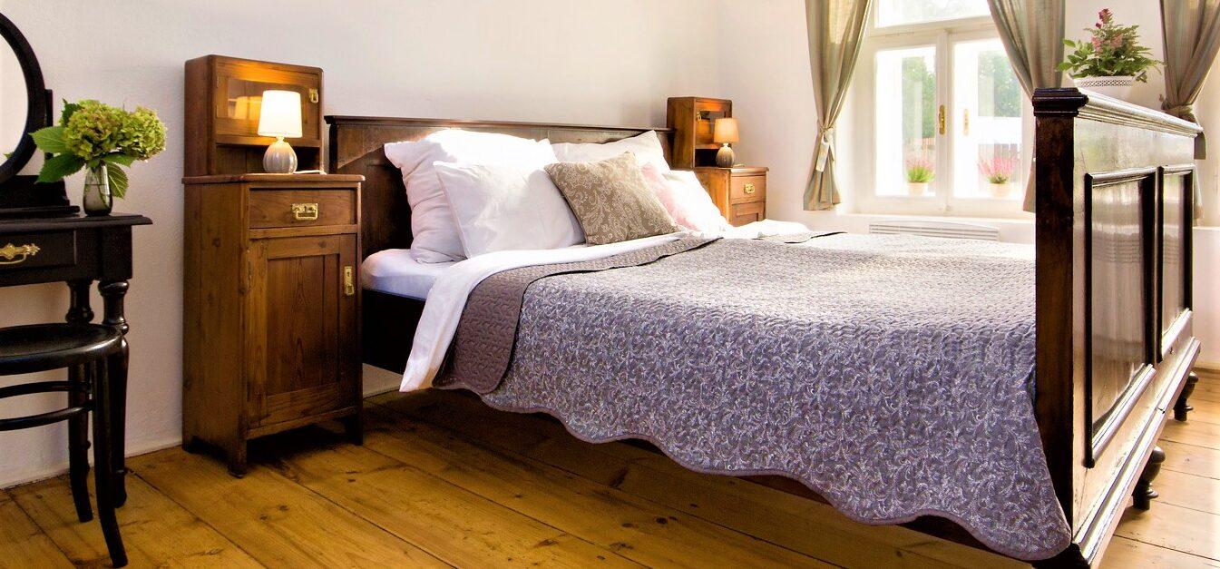 Apartmán č. 2, postel
